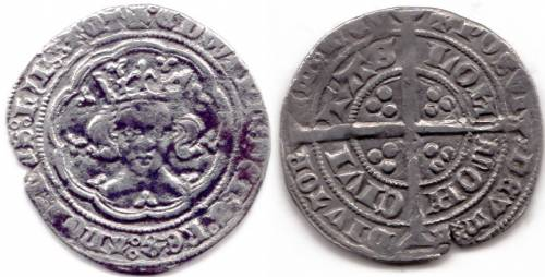 Edward III Treaty Period Groat - Mint London