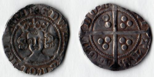 Edward III Treaty Period Penny - Mint London