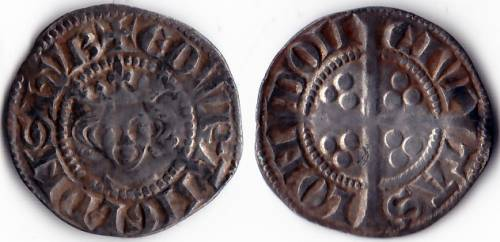 Edward I Class 4a Penny - Mint London