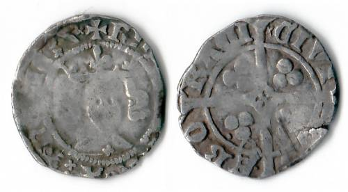Richard II Type IB Penny - Mint York