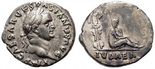 Vespasian, 1 July 69 - 24 June 79 A.D., Judaea Capta