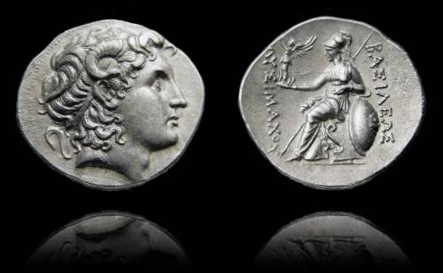 KINGS of THRACE, Macedonian. Lysimachos. 305-281 BC
