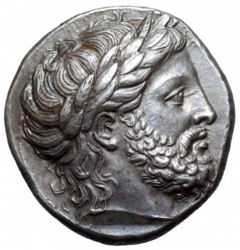 Philip tetradrachm (Obv)
