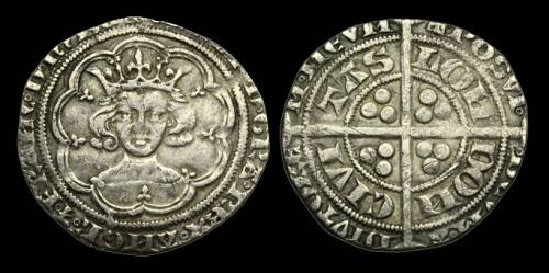 Edward III Series B Groat - Mint London