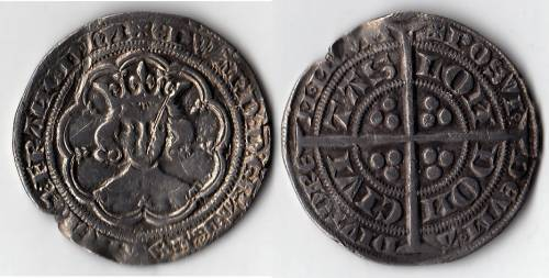 Edward III Series B Groat (LAL 2/2) - Mint London