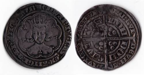 Edward III Series B Groat - (LAL 5/4) Mint London