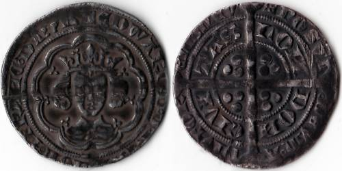 Edward III Series C Groat - Mint London (LAL 35)