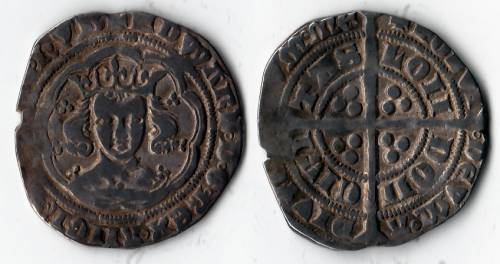 Edward III Series E Groat - Mint London (LAL 10/14)