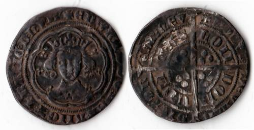 Edward III Series E Groat - Mint London (LAL 41)