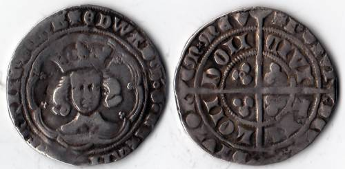 Edward III Series G Groat - Mint London (LAL Gd5 /Gg1)