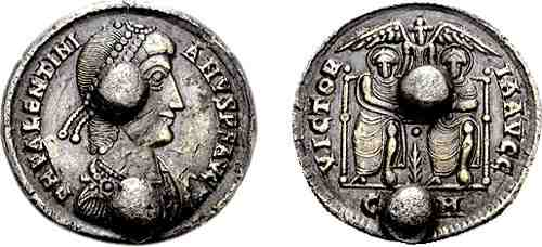 "Valentinian II ""Coin Weight"""