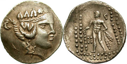Thracian Imitative issue of Thasos