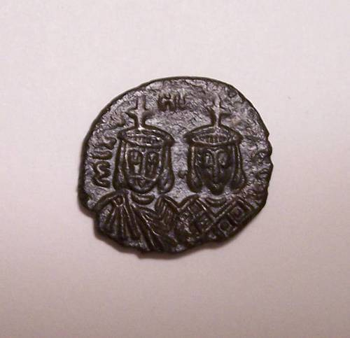 Obverse of Byzantine Michael II Coin