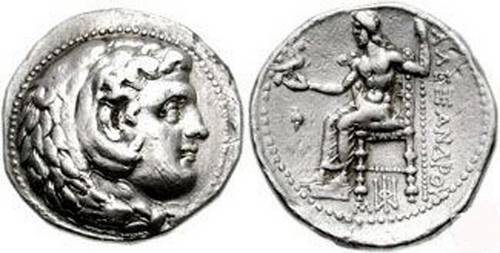 Babylon tetradrachm