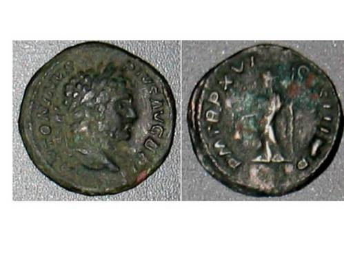 Caracalla Fouree Denarius