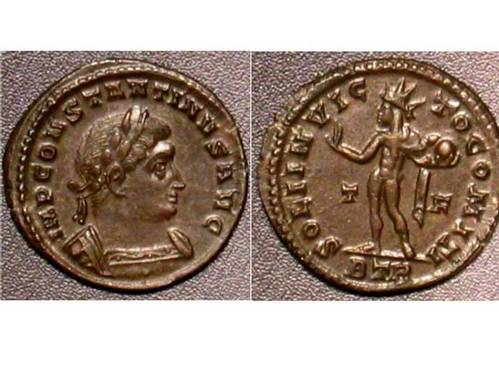 Constantine the Great Reduced Follis